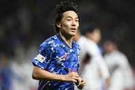 昨年11月19日にホームで行なわれた親善試合、日本はベネズエラに1-4と完敗を喫した。写真:金子拓弥(THE DIGEST写真部)