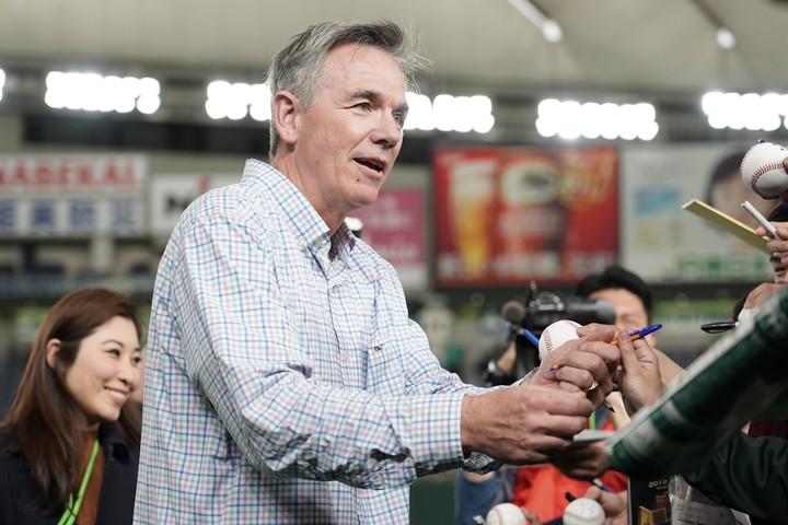MLBの歴史に残る「改革者」ビリー・ビーン。『マネーボール』はブラッド・ピット主演で映画化された。(C)Getty Images