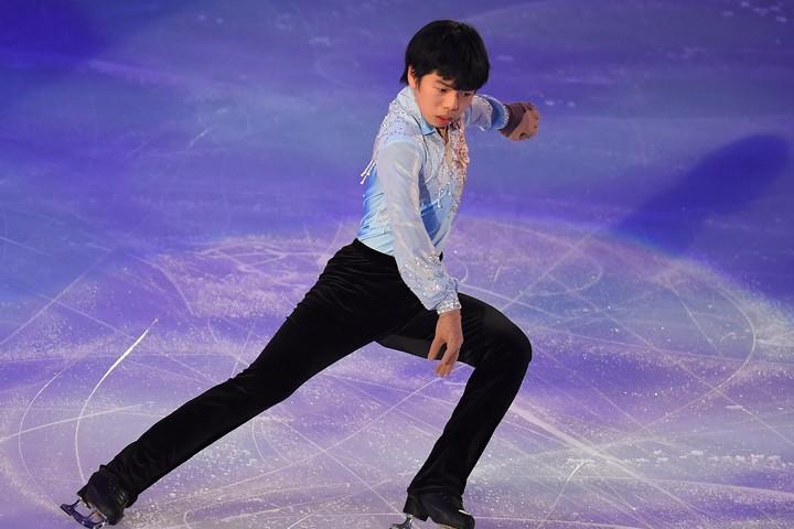 羽生と同じ仙台市出身の佐藤駿が快挙を達成した。(C) Getty Images