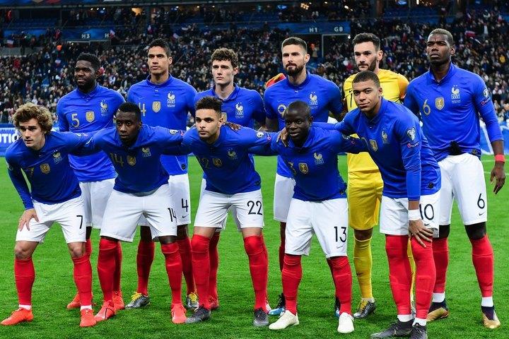 UEFA代表チームランク5位、FIFAランク2位のフランスはメジャートーナメントの連覇を狙う。(C)Getty Images