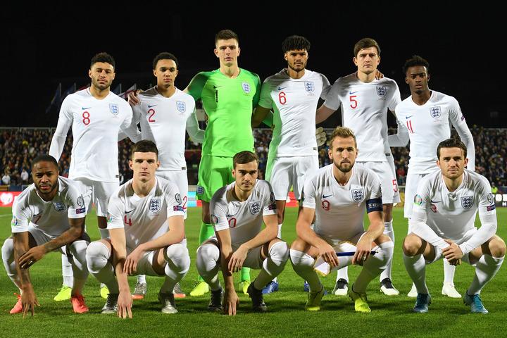 3大会連続10回目の出場となるイングランド代表。W杯でべスト4進出し、充実度を高めている。(C)Getty Images