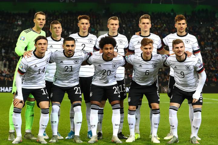13大会連続13回目の出場となるドイツ代表。オランダと同居した予選は7勝1敗で首位通過を果たした。(C)Getty Images
