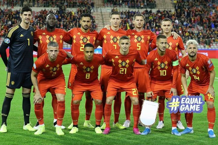 2大会連続6回目の出場となるベルギー代表。今予選は10戦全勝と相手を寄せ付けなかった。(C)Getty Images