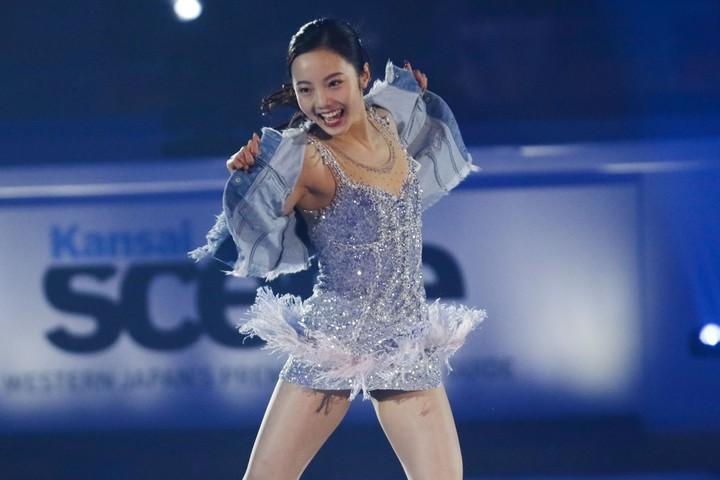 本田真凜は1月25日(土)、26日(日)と熊本で行なわれる「プリンス・アイスワールド」に出演予定だ。(C)Getty Images