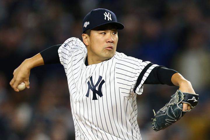 2020年が契約最終年となる田中。もしかしたら17年のダルビッシュのように、シーズン途中で移籍するかもしれない。(C)Getty Images